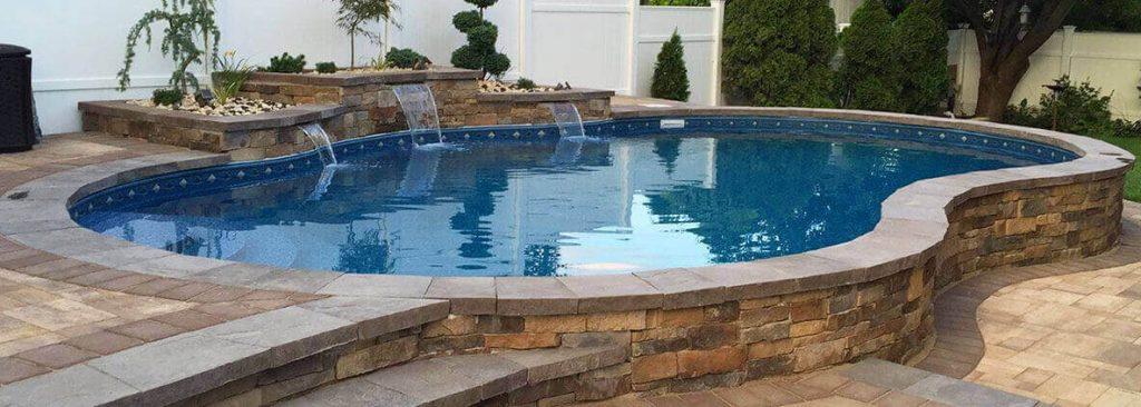 Semi-Inground Pools Manhattan | Pool Builder Wamego Pool ...