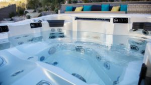 an image of a hot tub whose owners are using the 3 smart ways to save on pool and spa energy costs