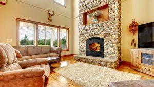 Fireplace in Kansas